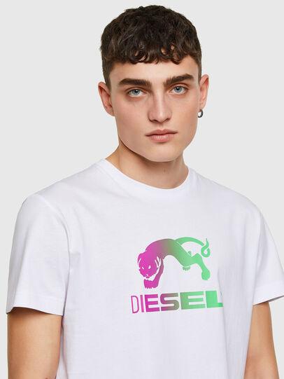 Diesel - T-DIEGOS-E30, White - T-Shirts - Image 3