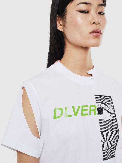 Diesel - T-GOMEZ, Weiß - T-Shirts - Image 3