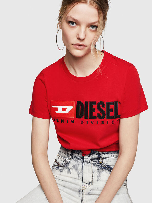 T-SILY-DIVISION, Feuerrot - T-Shirts