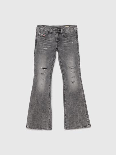 Diesel - LOWLEEH-J-N, Nero/Grigio scuro - Jeans - Image 1