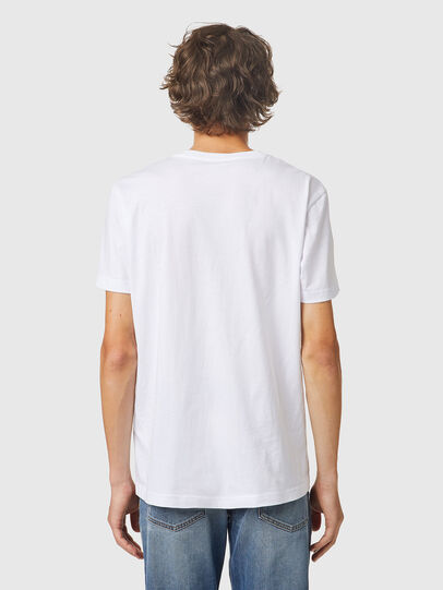 Diesel - T-DIEGOS-K24, Blanc - T-Shirts - Image 2