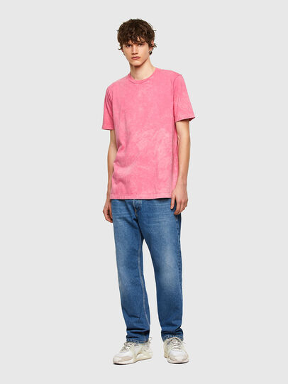 Diesel - T-JUST-E2, Rosa - T-Shirts - Image 5