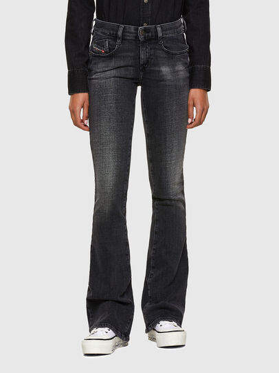 Diesel - D-Ebbey 009PW, Black/Dark grey - Jeans - Image 1