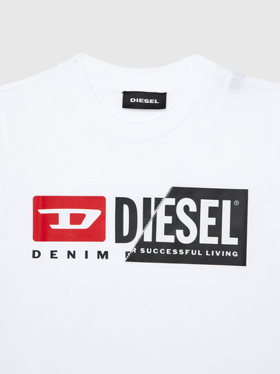 Diesel - TDIEGOCUTYB-R, Blanc - T-shirts et Hauts - Image 3