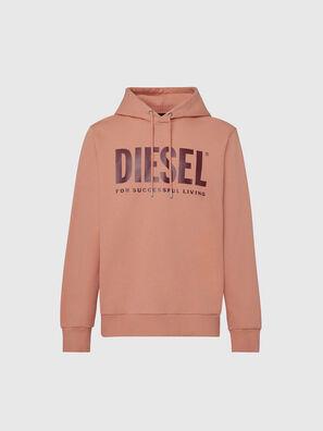 S-GIR-HOOD-DIVISION-, Rosa - Sweatshirts