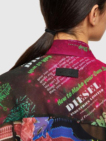 Diesel - C-CASEYL, Schwarz/Rosa - Hemden - Image 3