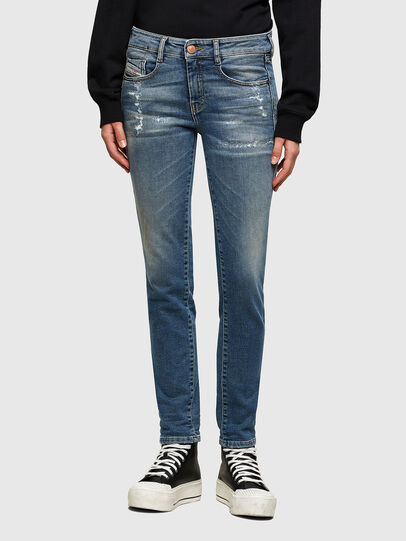 Diesel - D-Ollies JoggJeans® 069UW, Bleu moyen - Jeans - Image 1