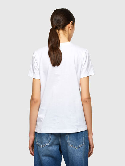 Diesel - T-SILY-K10, Blanc - T-Shirts - Image 2