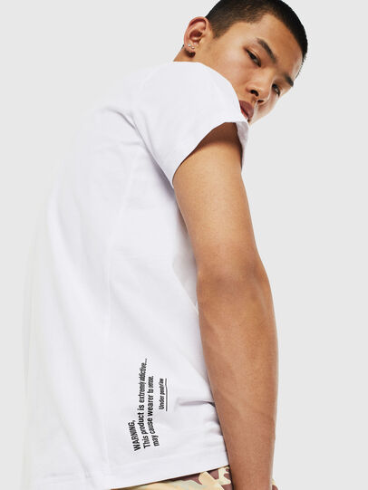 Diesel - T-HOVER, Weiß - T-Shirts - Image 3