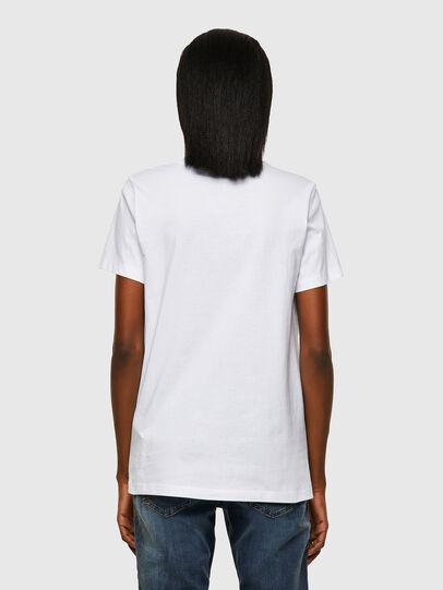 Diesel - T-SILY-ECOSMALLOGO, Weiß - T-Shirts - Image 2