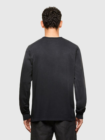 Diesel - T-JUBIND-LS, Nero - T-Shirts - Image 2
