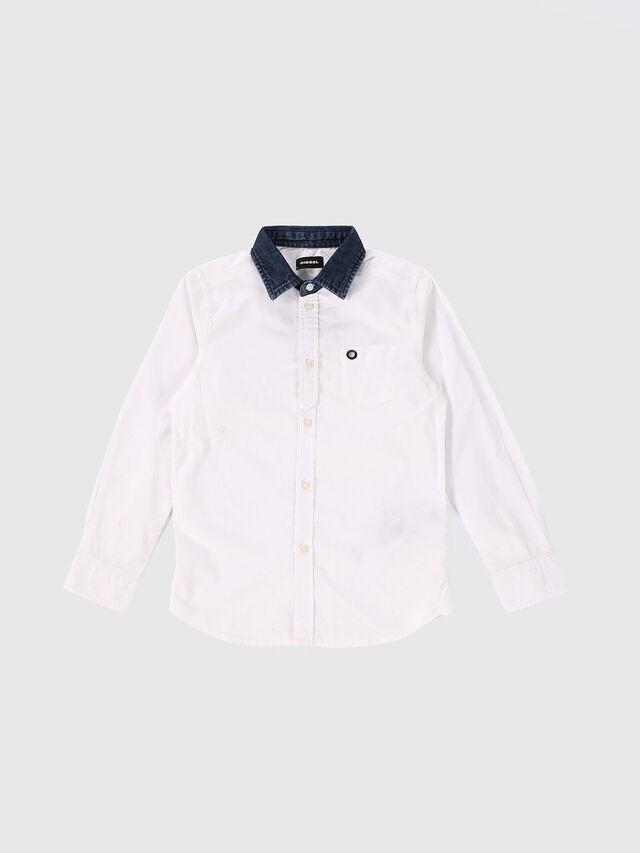 Diesel - CYMELDN, Weiß - Hemden - Image 1