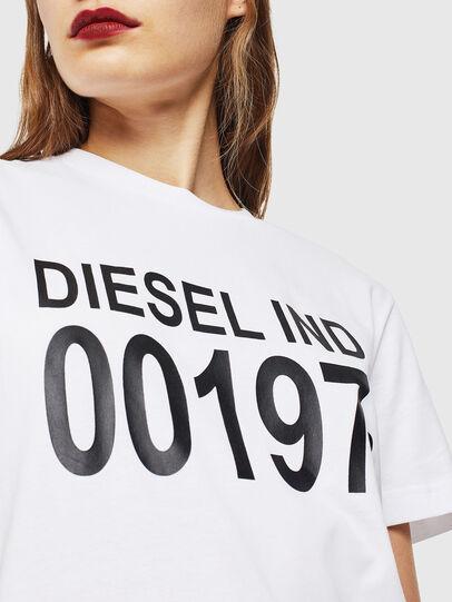 Diesel - T-DIEGO-001978, Weiß - T-Shirts - Image 5