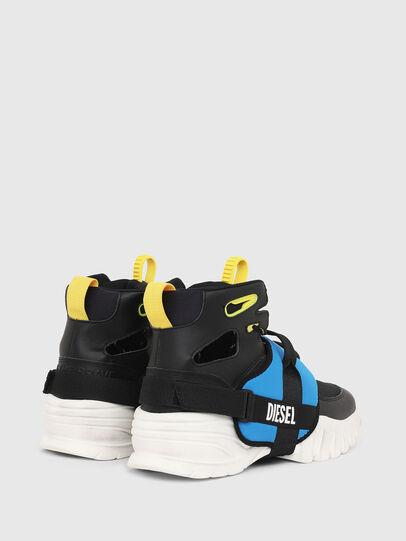 Diesel - S-SHARQUEZ MID, Schwarz - Sneakers - Image 3