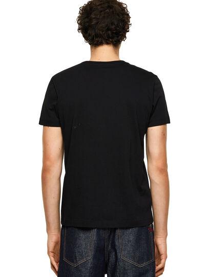 Diesel - T-INY-B1, Schwarz - T-Shirts - Image 2