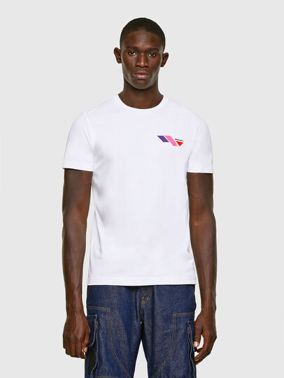 Diesel - T-DIEGOS-K11, Blanc - T-Shirts - Image 1