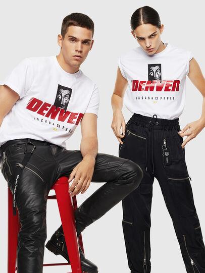 Diesel - LCP-T-DIEGO-DENVER, Weiß - T-Shirts - Image 7