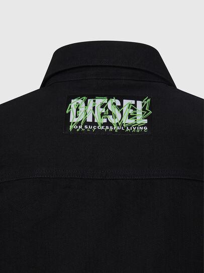 Diesel - NHILL-C, Schwarz - Denim jacken - Image 6