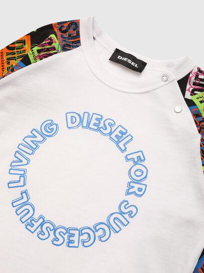 Diesel - TENTYB, Blanc - T-shirts et Hauts - Image 3