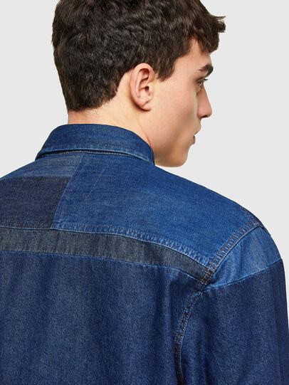 Diesel - D-HORUS, Bleu - Chemises en Denim - Image 4