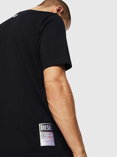 Diesel - T-JUST-B28, Schwarz - T-Shirts - Image 3