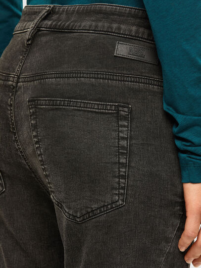 Diesel - Fayza JoggJeans 009HM, Schwarz/Dunkelgrau - Jeans - Image 4