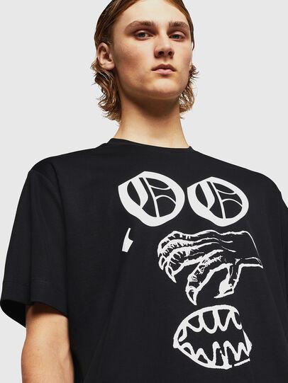 Diesel - TEORIALE-X2, Schwarz - T-Shirts - Image 4