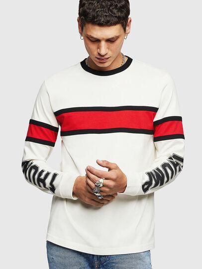 Diesel - T-BERG, Weiß - T-Shirts - Image 1