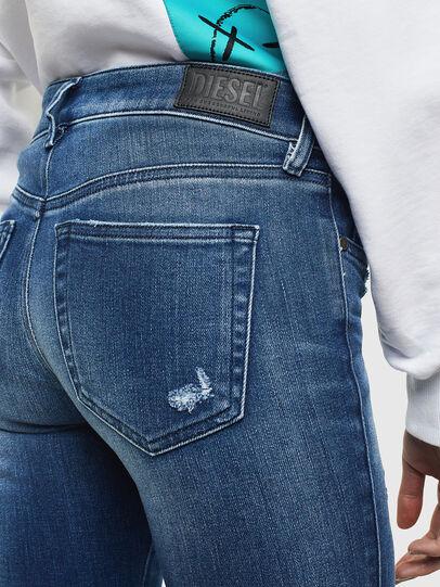 Diesel - Slandy 009IG, Mittelblau - Jeans - Image 4