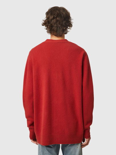 Diesel - K-CARY, Marron - Pull Maille - Image 2