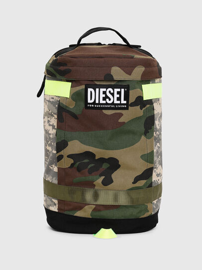 Diesel - PIEVE, Camouflagegrün - Rucksäcke - Image 1