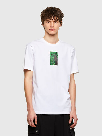 Diesel - T-JUST-E11, Blanc - T-Shirts - Image 1