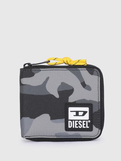 Diesel - ZIPPY HIRESH S II, Gris/Noir - Portefeuilles Zippés - Image 1