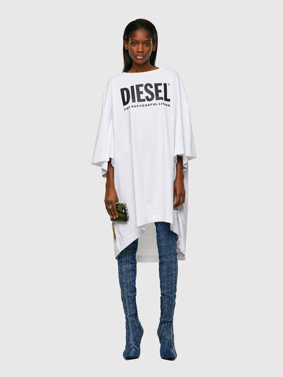 Diesel - D-EXTRA-ECOLOGO, Blanc - Robes - Image 1