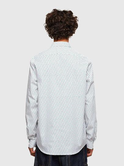 Diesel - S-RILEY-KA-A, Blanc - Chemises - Image 2