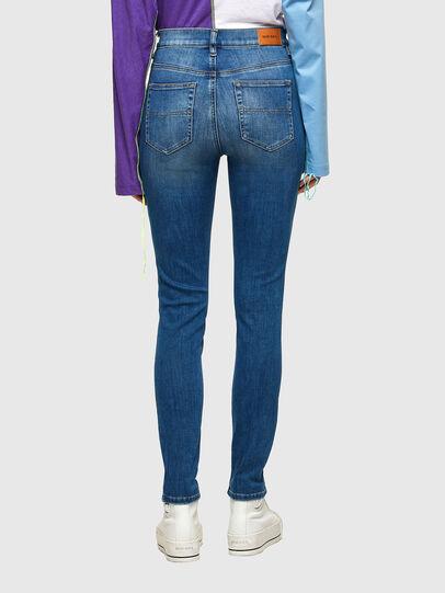 Diesel - D-Roisin High 009PE, Blu medio - Jeans - Image 2
