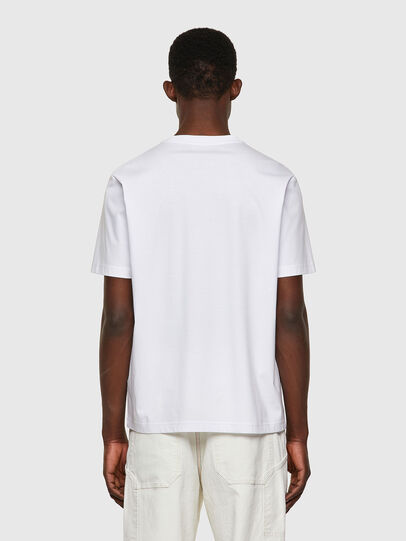 Diesel - T-JUST-WORKY, Blanc - T-Shirts - Image 2
