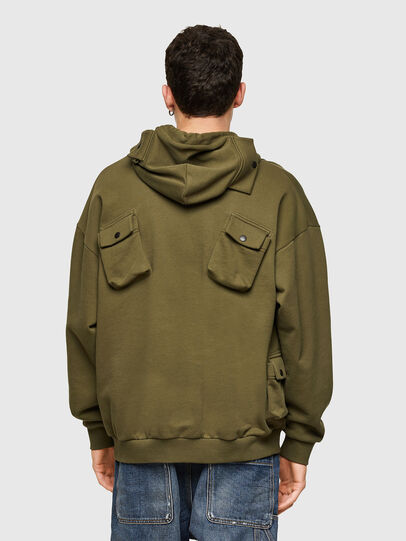 Diesel - S-ERPOCK, Military Green - Sweaters - Image 2