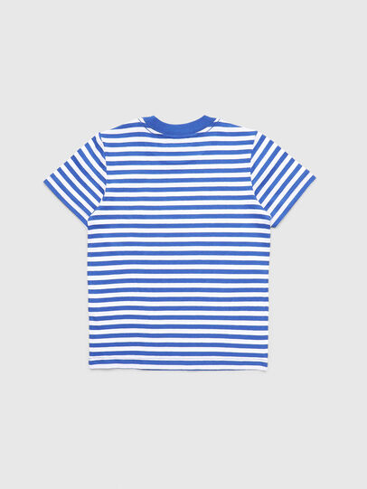 Diesel - TVIKB-R, Blau/Weiß - T-Shirts und Tops - Image 2