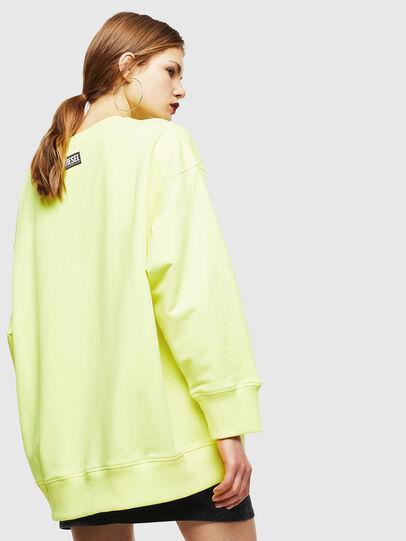 Diesel - F-AKUA, Neongelb - Sweatshirts - Image 2