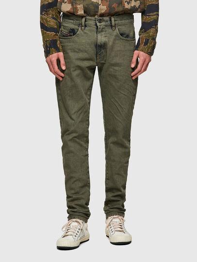 Diesel - D-Strukt 09A50, Verde Militare - Jeans - Image 1