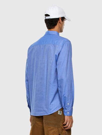 Diesel - S-JAMES, Bleu - Chemises - Image 5