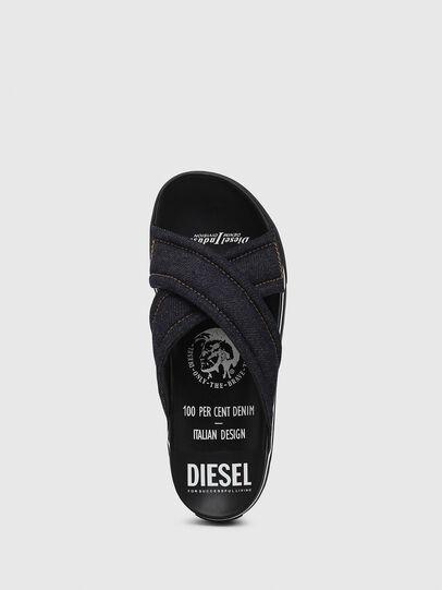 Diesel - SA-GRAND X, Jeansblau - Sandalen - Image 5