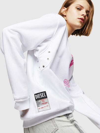 Diesel - F-LYANY-E, Weiß - Sweatshirts - Image 4