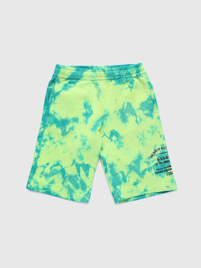Diesel - PROLLY, Vert Fluo - Shorts - Image 1