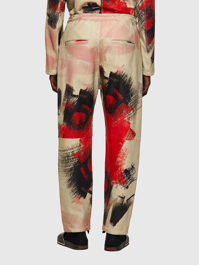 Diesel - P-TOLLER-CMF, Rouge/Blanc - Pantalons - Image 2