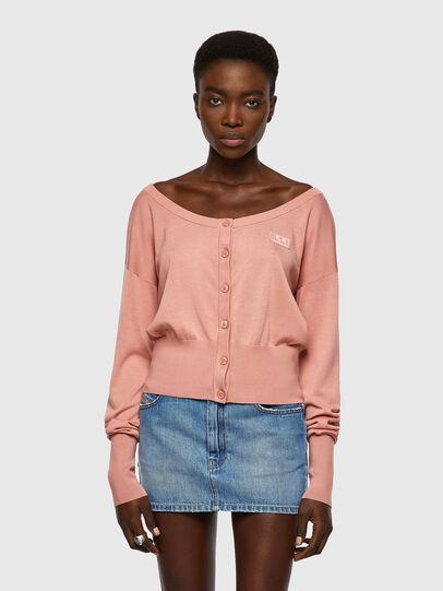 Diesel - M-COLUMBIA, Pink - Knitwear - Image 1