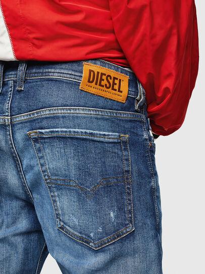 Diesel - Sleenker 069FY, Mittelblau - Jeans - Image 4
