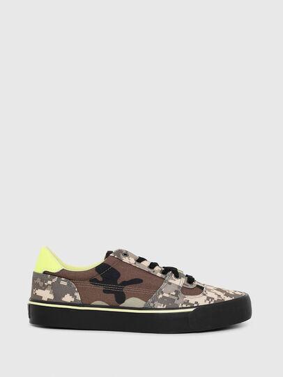 Diesel - S-FLIP LOW, Armeebraun - Sneakers - Image 1