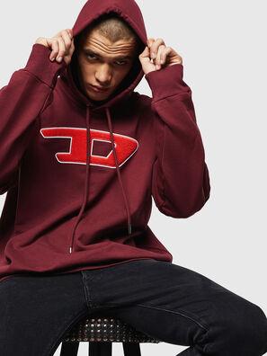 S-DIVISION-D, Bordeauxrot - Sweatshirts